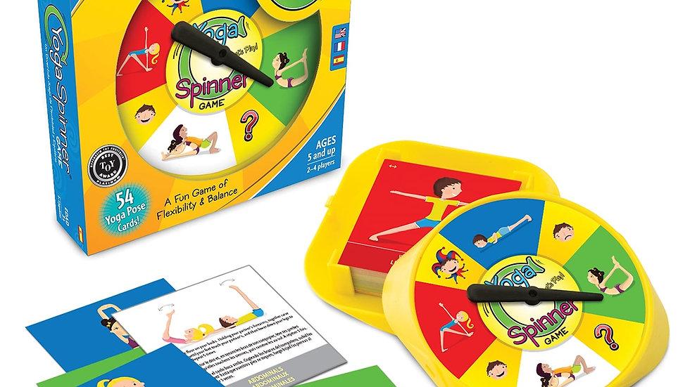 Yoga Spinner Game
