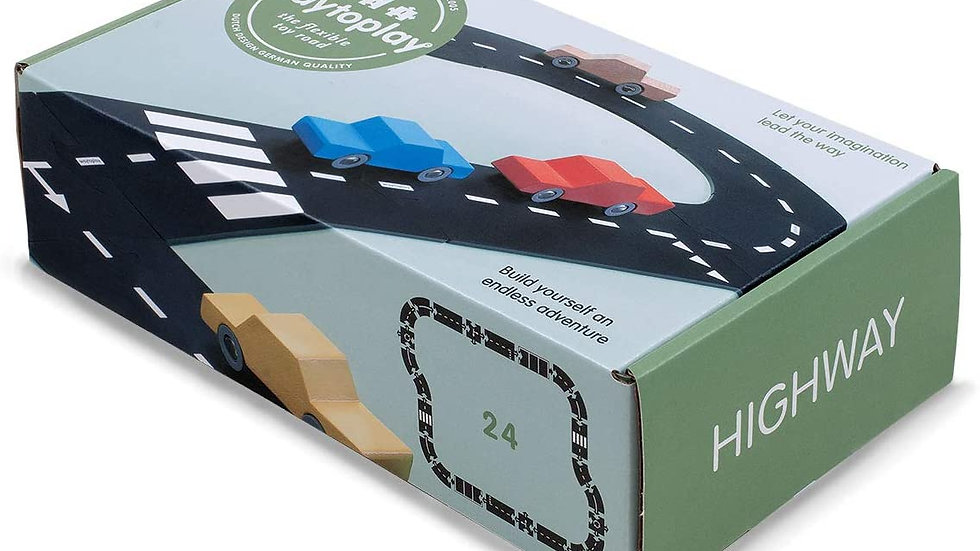 waytoplay - Highway - 24 piece