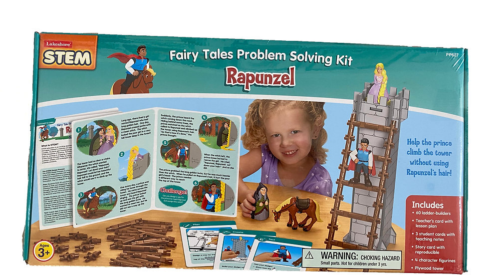 Lakeshore STEM Fairy Tales Problem Solving Kit - Rapunzel