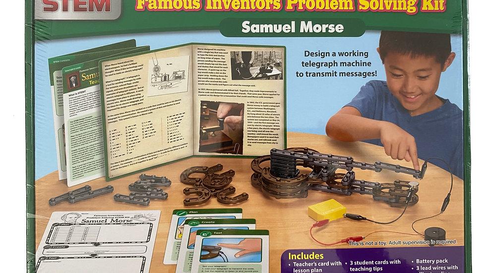 Lakeshore STEM Famous Inventors Problem Solving Kit - Samuel Morse