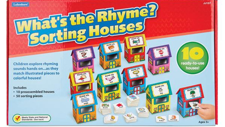Lakeshore What's the Rhyme? Sorting House