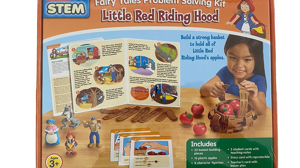 Lakeshore STEM Fairy Tales Problem Solving Kit - Little Red Riding Hood