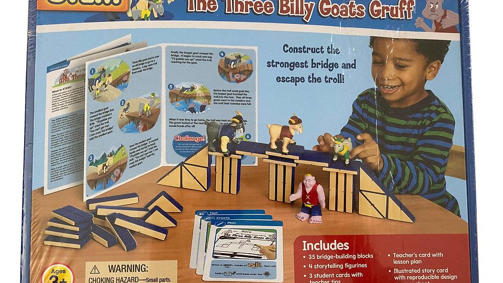 Lakeshore STEM Fairy Tale Problem Solving Kit - The Three Billy Goats Gruff