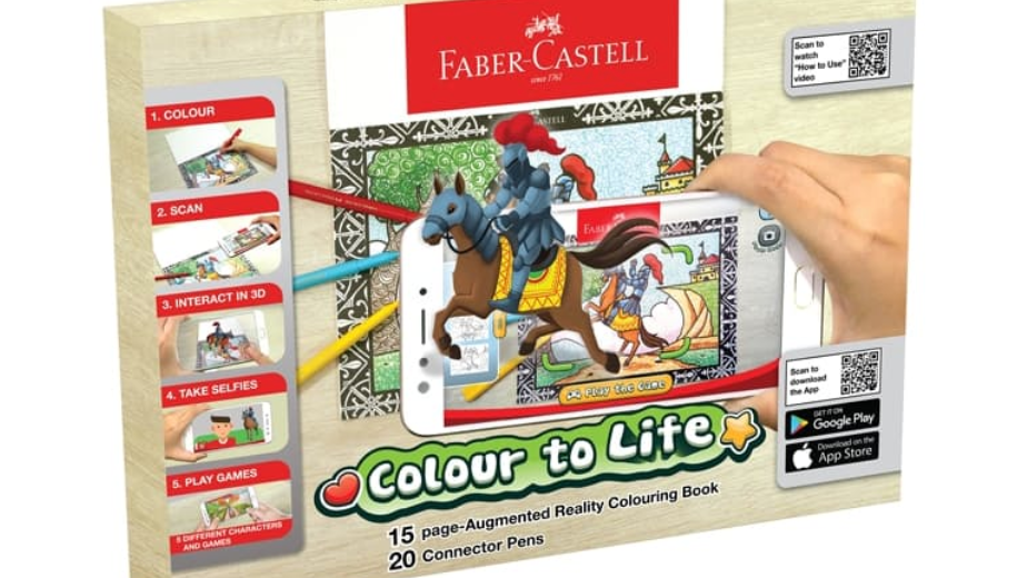 Faber-Castell Augmented Reality Coloring Book