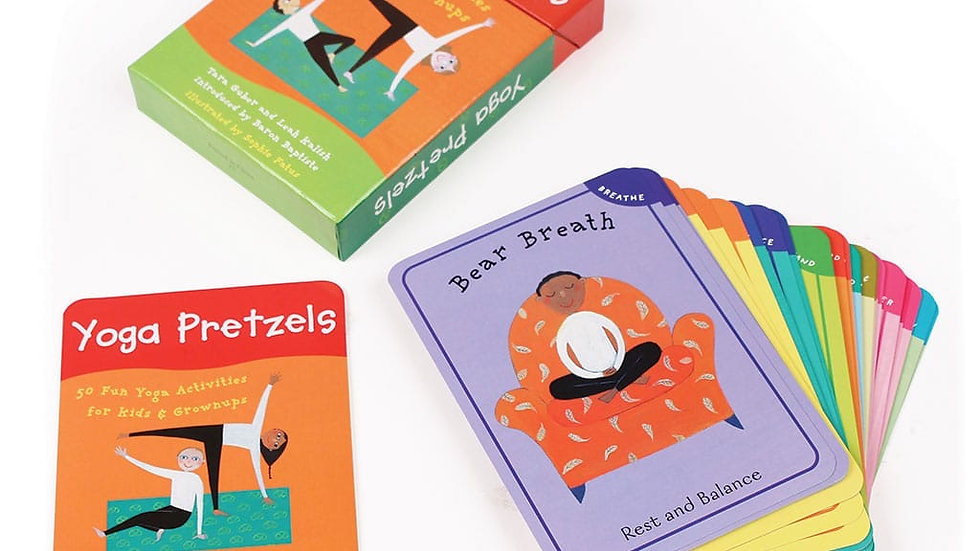 Yoga Pretzels Game