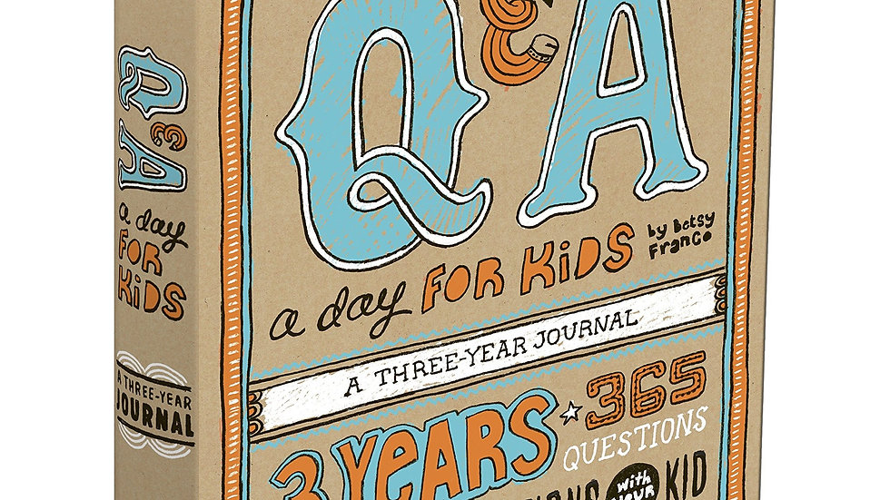 Q &A a day for kids - A three year journal