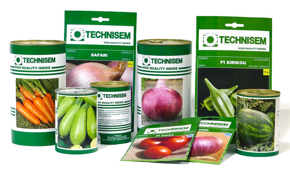 Technisem new packaging