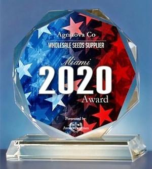 Agrinova Co. Receives 2020 Miami Award! 🏆