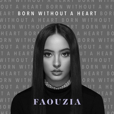Faouzia - 'Born Without A Heart' album cover