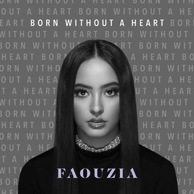 Faouzia - 'Born Without A Heart' album cover