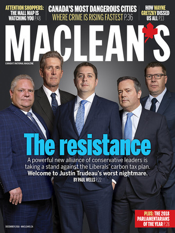 Maclean's Magazine - The Resistance