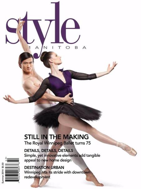 Style Manitoba magazine cover