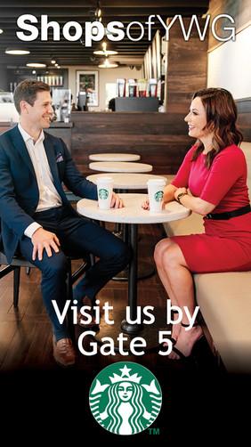 Winnipeg Airports Authority - Starbucks