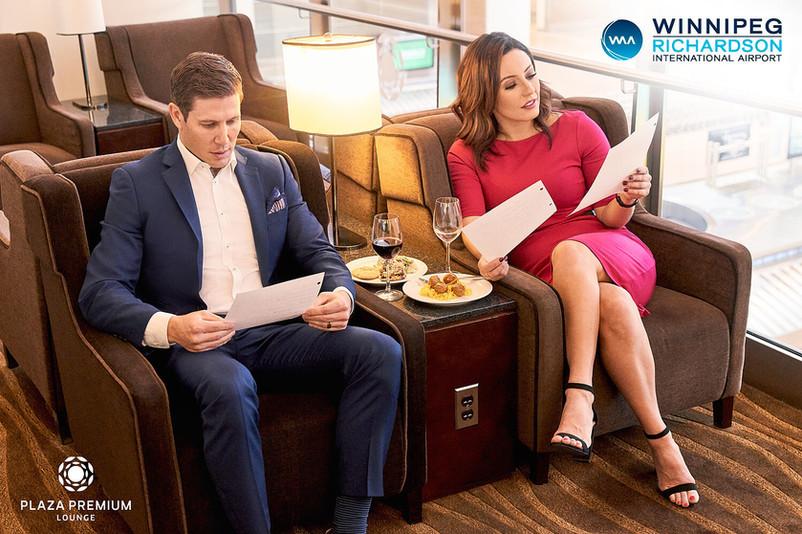 Winnipeg Airports Authority - Plaza Premium Lounge