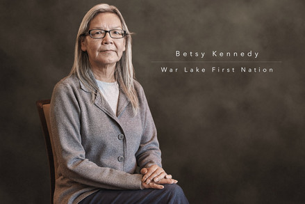 Betsy Kennedy - War Lake First Nation by Réjean Brandt Photography.  Winnipeg, Manitoba portrait photographer.