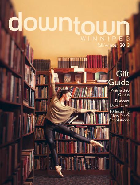 Downtown Winnipeg Magazine cover