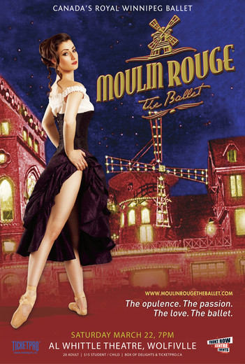 Canada's Royal Winnipeg Ballet: Moulin Rouge - The Ballet movie poster