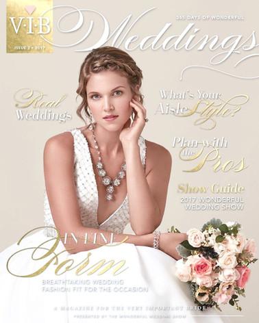 VIB Weddings Magazine - cover