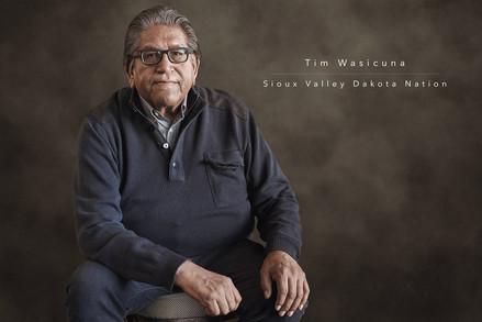 Tim Wasicuna - Sioux Valley Dakota Nation by Réjean Brandt Photography.  Winnipeg, Manitoba portrait photographer.