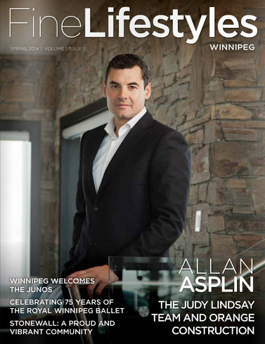 Fine Lifestyles Magazine cover