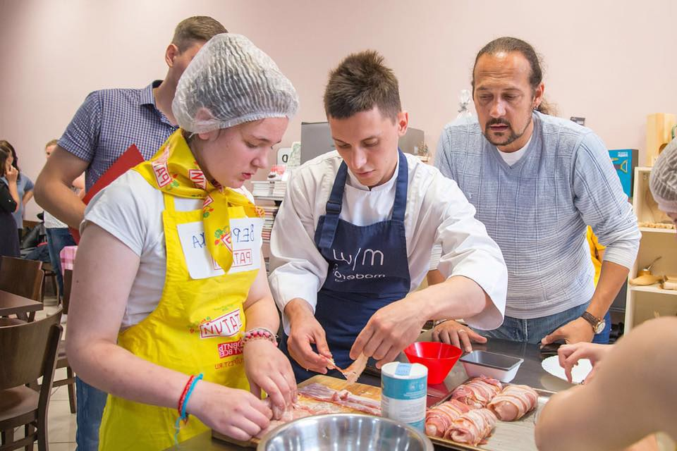 Школа кулинарии 1
