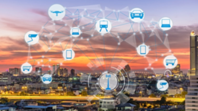 Internet of Things and Smart city concep