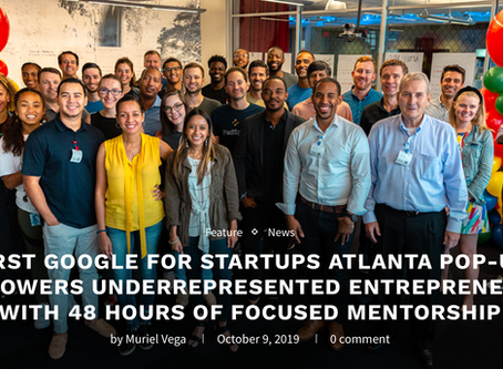 HAWQUE IS SELECTED FOR THE FIRST ATLANTA GOOGLE FOR STARTUPS POP UP.