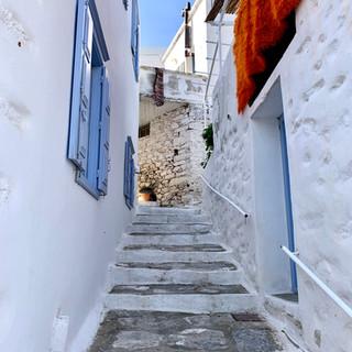 Dans les rues d'Aegiali