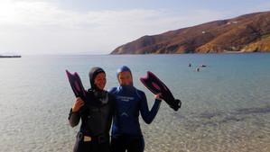 Swedish freedivers