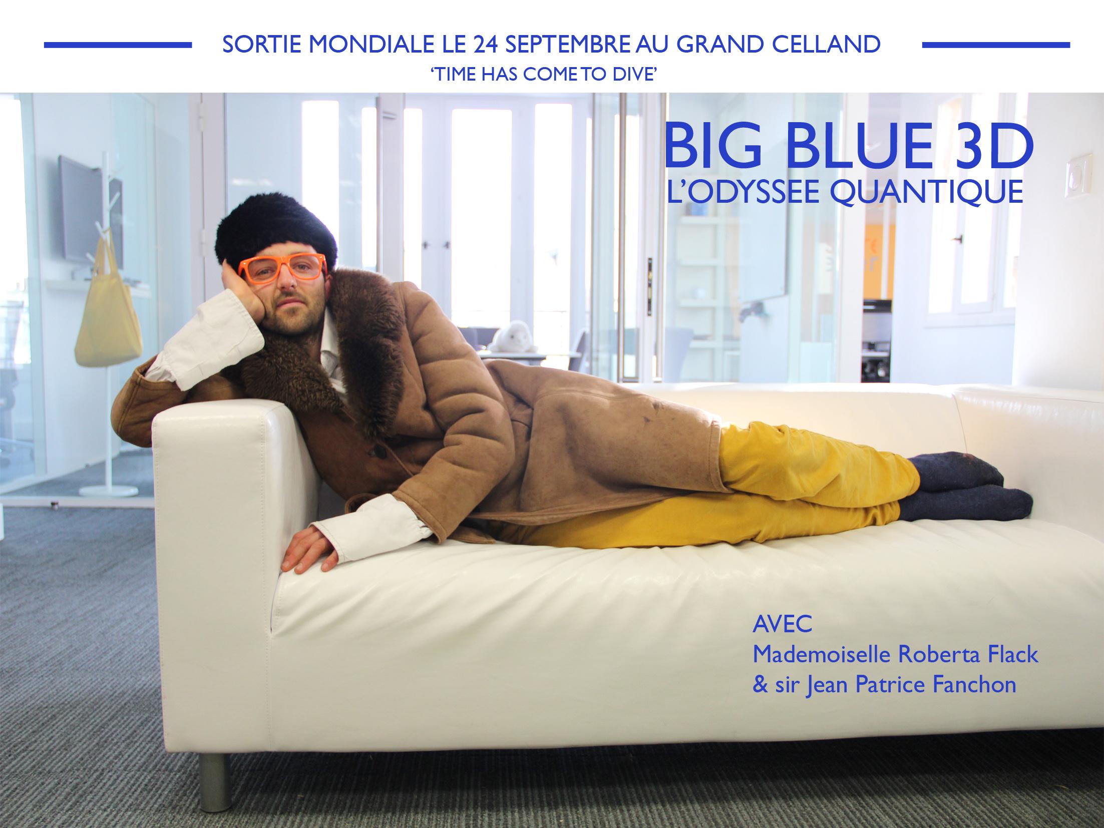 Affiche BIG BLUE 3D