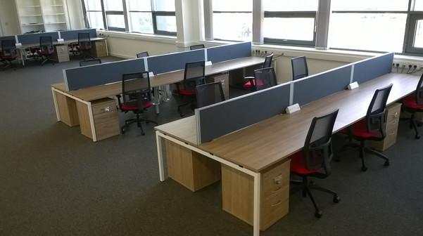 Open Plan Bench Desking