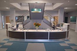 Bespoke Reception Area