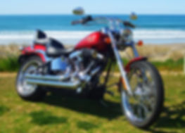 Harley Davidson Motorcycle Tours NZ, Harley tour NZ, Harley Ride NZ, Harley Davidson, FXSTC