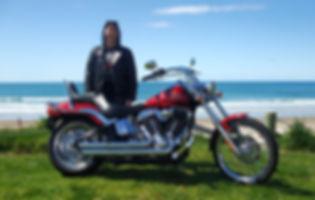 Harley Davidson Tour, Whangamata New Zealand. Harley Ride Scenic New Zealand