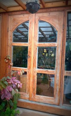 דלתות יציאה לגינה