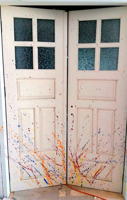 דלת עתיקה