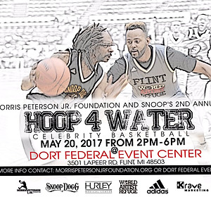 Morris Peterson Foundation Hoops for Water