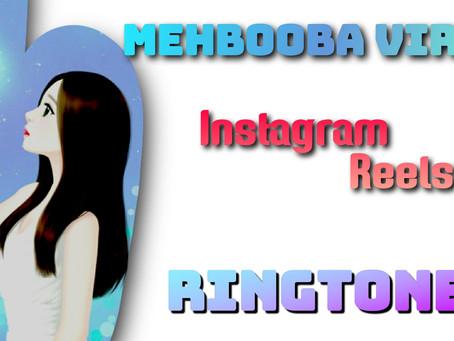 Mehbooba jayeshh_jg Instagram Ringtone | Sholay Mehbuba Reels Instrumental Ringtone Download