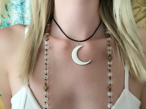 Apana Gypzy New Moon Necklace