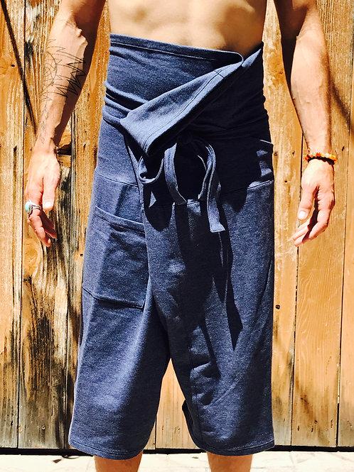 OLY Thai Pants - Heather Blue