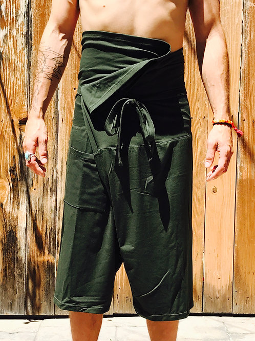 OLY Thai Pants- Forest Green