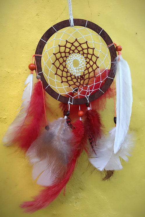 Raw Wood Dream Catcher