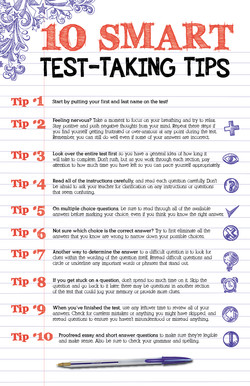 10 Smart Test Taking Tips to Give Students