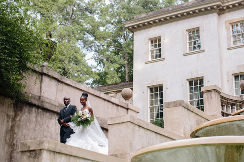 Chris & Irene's Swan House Wedding at The Atlanta History Center