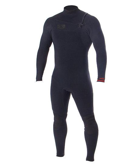 Ocean & Earth - Double Black 3.2mm | חליפת גלישה ארוכה לגברים