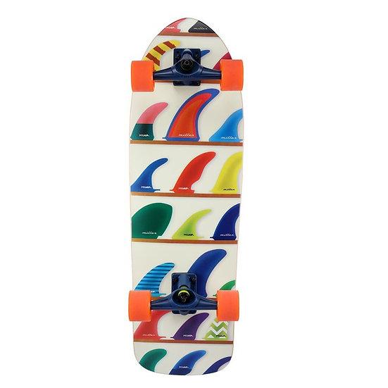 Miller Surf Skate   WHEELS & FINS