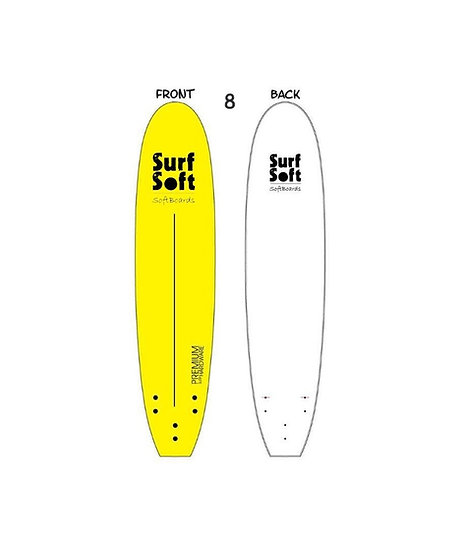גלשן סופט 8 פיט | Surf Soft