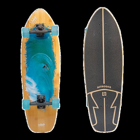 Nitro Surf Skate | CARLOS BURLE TAHITI