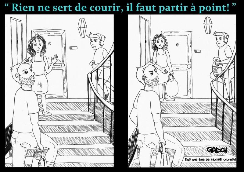 RIEN NE SERT DE COURIR...