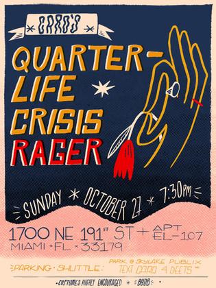 Quarter-life Crisis Poster